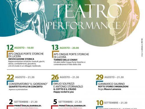 Da Solfrizzi a Zingaretti, dal Torneo delle Chiavi ai concerti. Come partecipare agli spettacoli presso l'Anfiteatro di Lucera