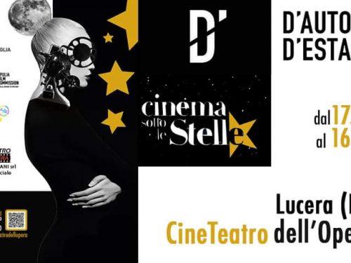 Cinema all'aperto a Lucera. Rassegna dal 17 agosto al 16 settembre
