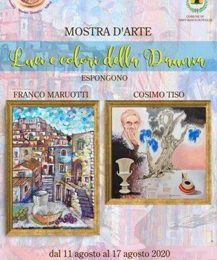 """A Sant'Agata di Puglia la mostra d'arte """"Luci e colori della Daunia"""""""