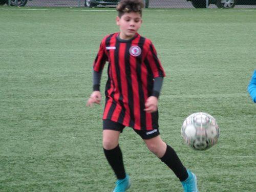 Il giovanissimo Matteo Berardinetti, la passione per il calcio e il sogno di diventare professionista
