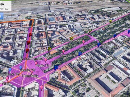Partirà da Foggia l'ottava tappa del Giro d'Italia 2021