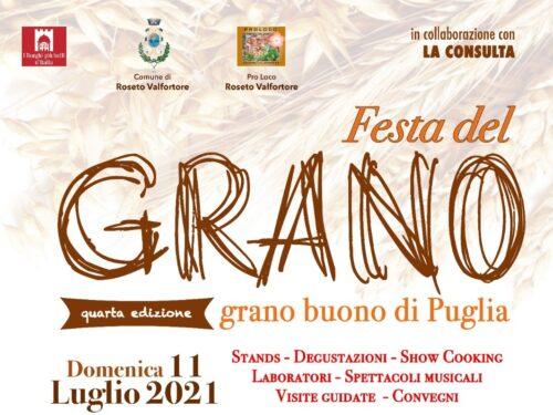 Festa del grano a Roseto Valfortore. Tutti gli appuntamenti