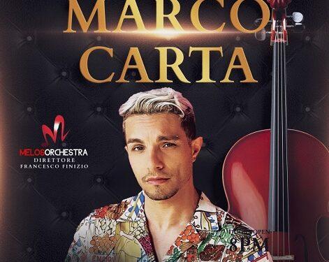 Marco Carta in concerto a Roseto Valfortore
